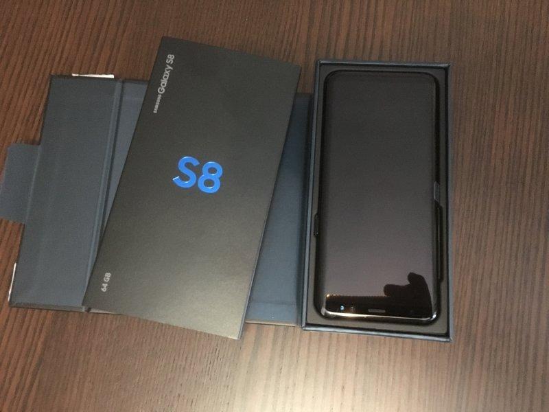 2 Samsung Galaxy S8 (nuevos), vista 1