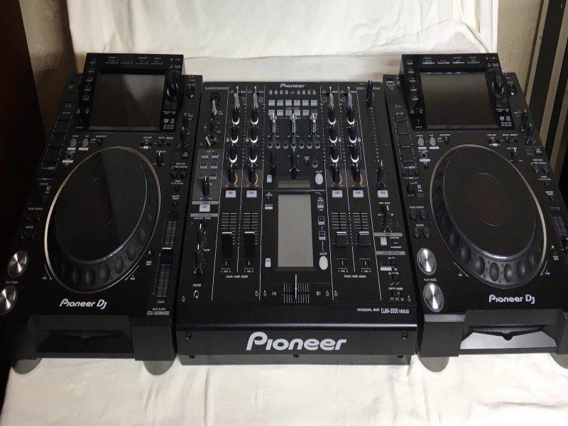 venta 2x pioneer CDJ-2000NXS2 & DJM-900NXS2 mezcla, vista 1