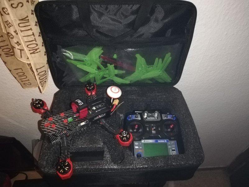 Drone como nuevo, vista 1