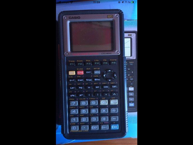 Calculadora Gráfica Casio, vista 1