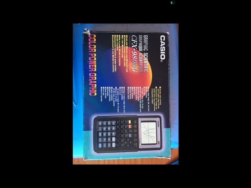 Calculadora Gráfica Casio, vista 2