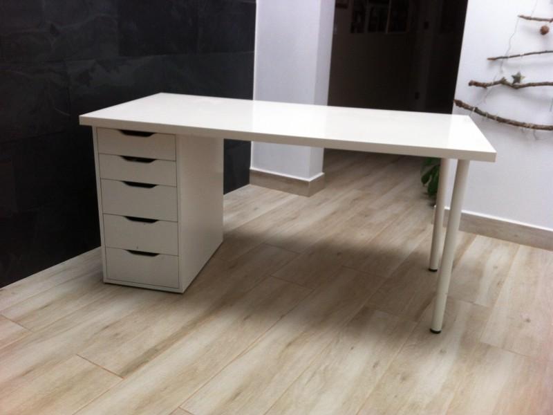 escritorio, mesa de estudio, vista 1