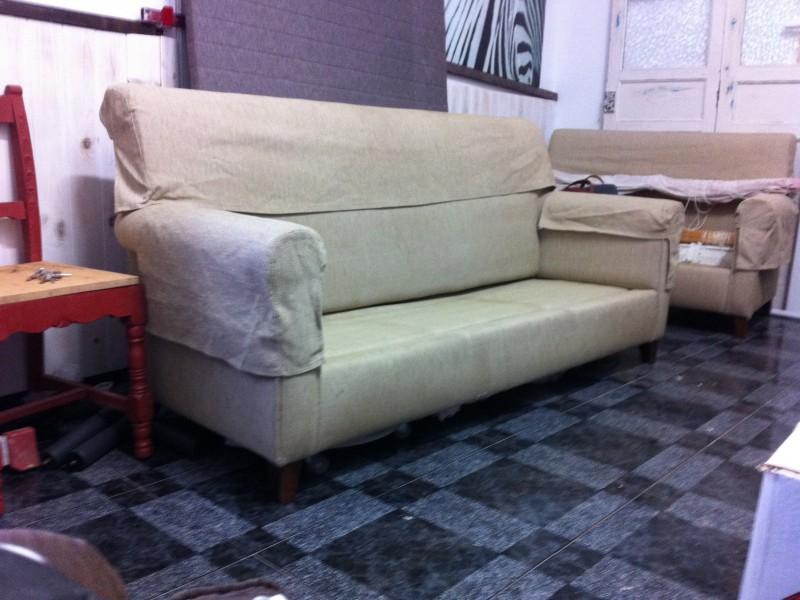 juego de sofás de 2 y 3 plazas, vista 1