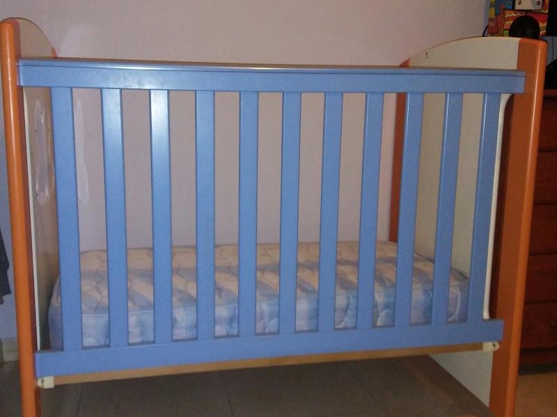Cuna bebe, vista 2
