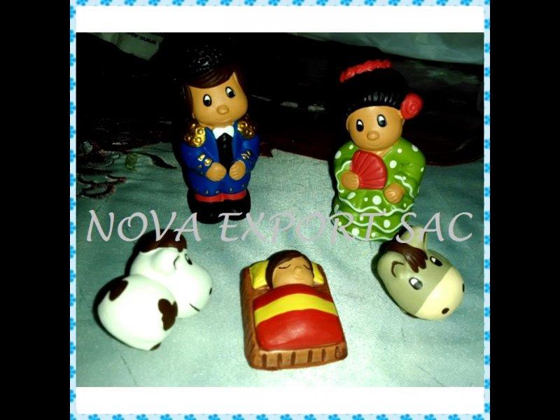 Nacimientos y adornos navideños hecho a mano Perú, vista 12