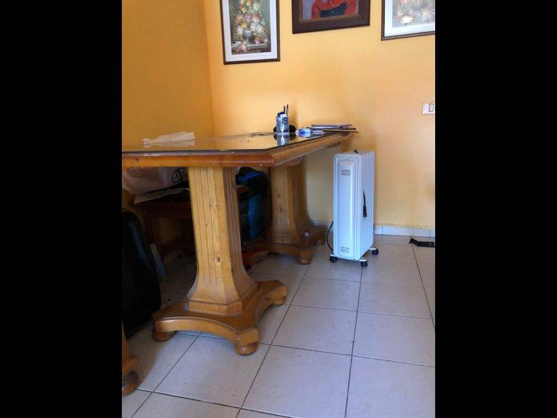 muebles de comedor de madera maciza, vista 1