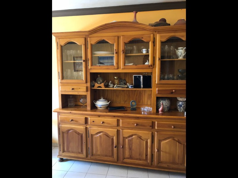 muebles de comedor de madera maciza, vista 2