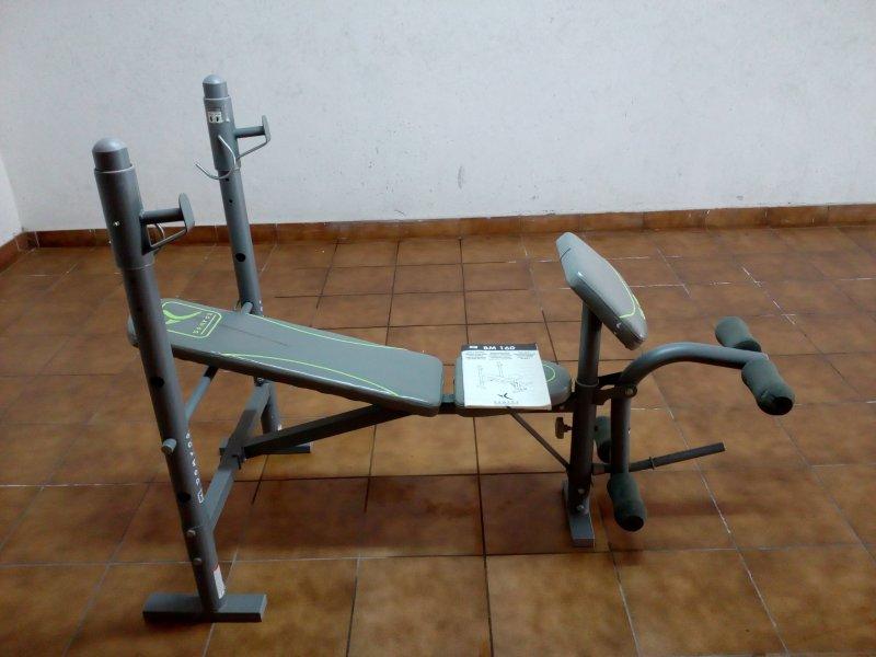 BANCO DE PESAS DOMYOS BM 160, vista 1