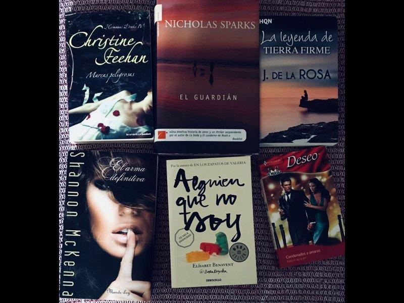 Novelas románticas, vista 5