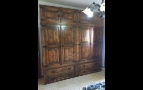 armario rustico mexicano, tienda de artículos para el hogar, referencia: 204-ho