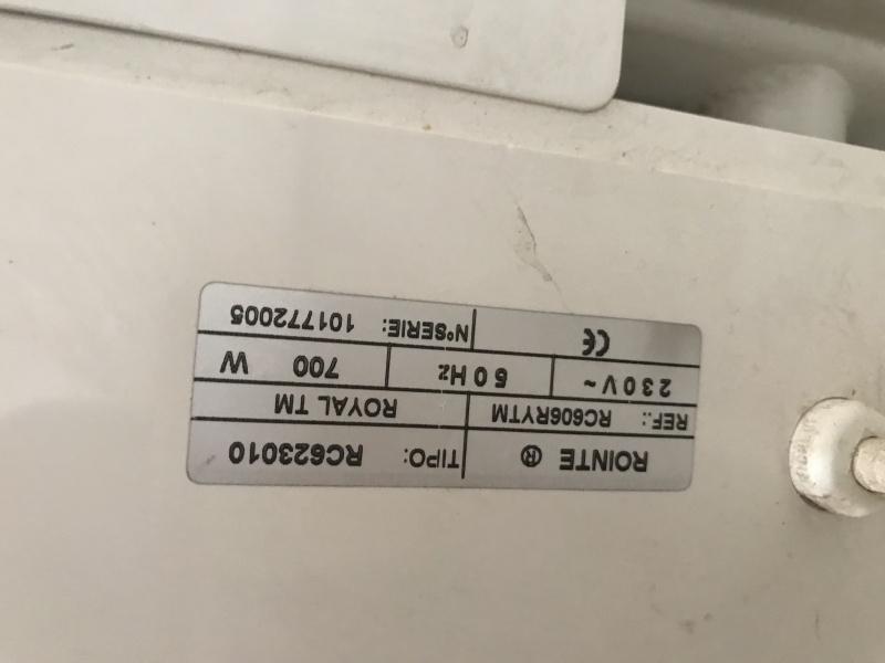 Radiador de aceite eléctrico de 700 w-h, vista 3