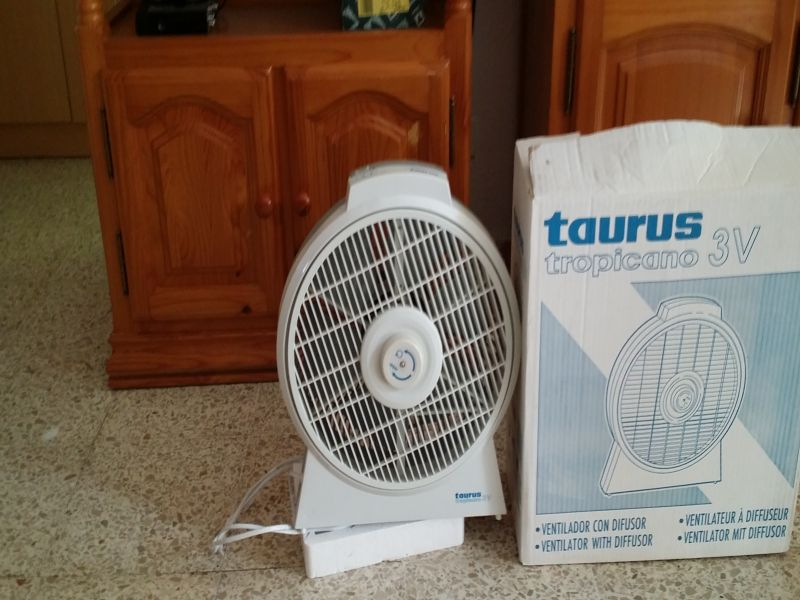 ventilador con difusor taurus nuevo, vista 1