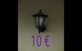 Lámpara tipo farola a paret, para el exterior del hogar, referencia: 261-ho