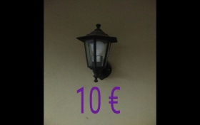 Lámpara tipo farola a paret de segunda mano, referencia: 261-ho