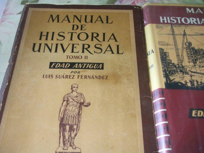 Libros de texto universitarios de historia y de op, vista 1