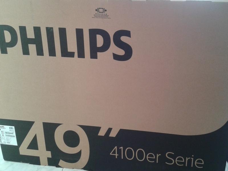 TV Philips 49 pulgadas, vista 1