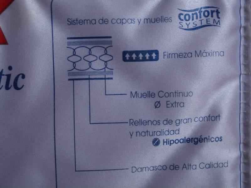 Vendo Colchón FLEX modelo HABANA 150*185, vista 3
