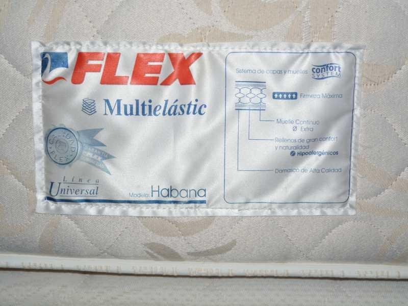 Vendo Colchón FLEX modelo HABANA 150*185, vista 5
