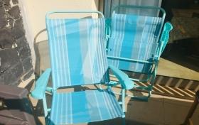 Sillas para playa o piscina nuevas de segunda mano, referencia: 381-ho