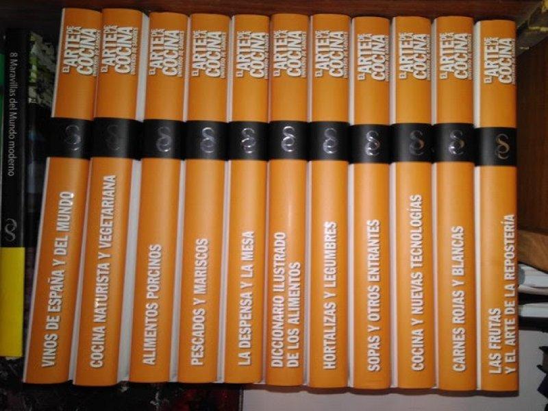 COLECCION LIBROS DE COCINA, vista 1