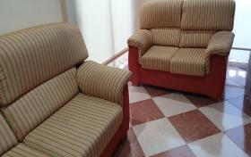 Conjunto sofás de 3 y 2 plazas de segunda mano, referencia: 402-ho