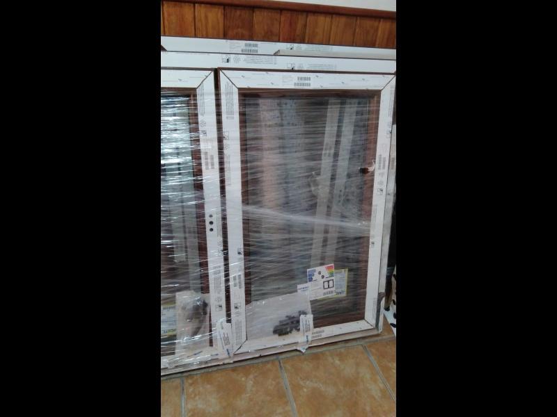 VENDO DOS VENTANAS PVC OSCILOB. NOGAL NUEVAS, vista 7