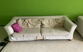 Sofa de 3 plazas, en buen estado, referencia: 635-ho