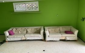 Conjunto de sofas 3+2 plazas de segunda mano, referencia: 637-ho