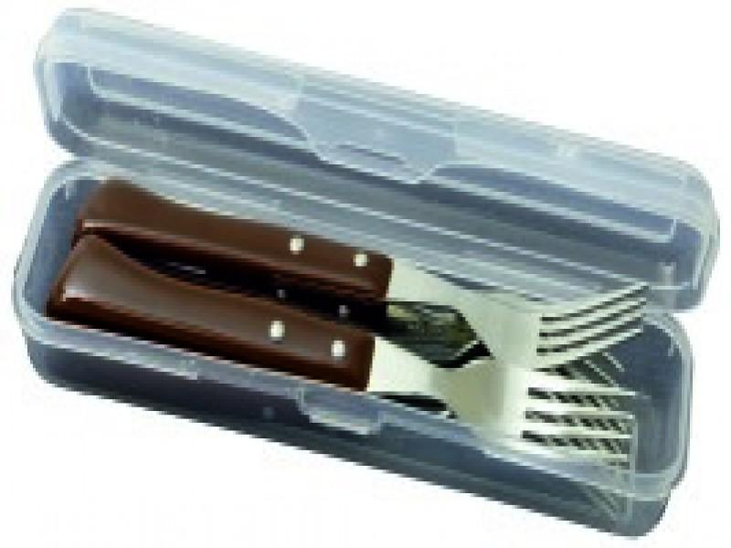 Juego de 6 cuchillos y 6 tenedores marca Arco, vista 2