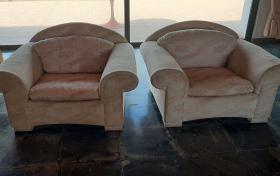 2 sillones para salon de segunda mano, referencia: 756-ho