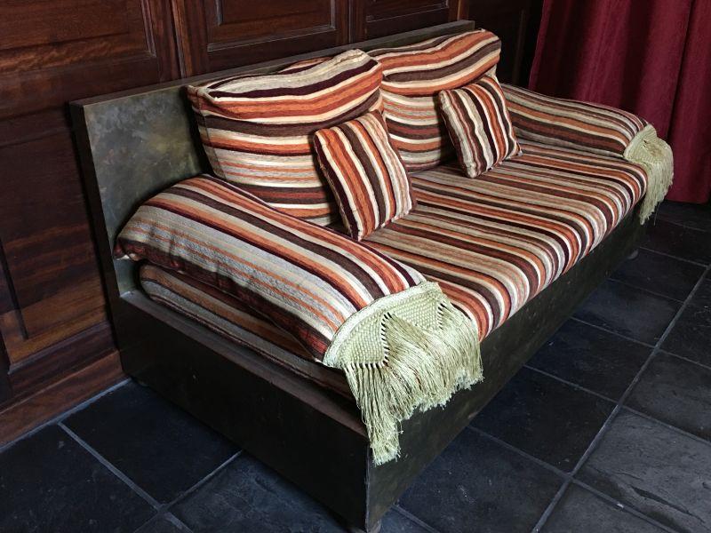Sofá 2 plazas estilo rústico , vista 1