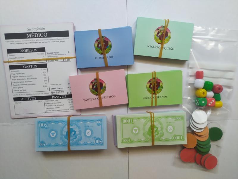 Cashflow101 juego financiero, vista 7