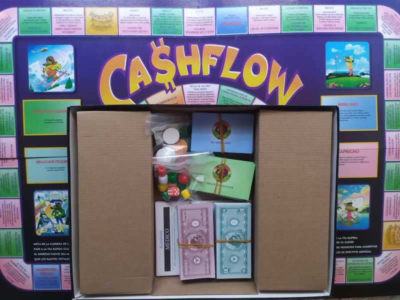 Cashflow101 juego financiero, vista 4