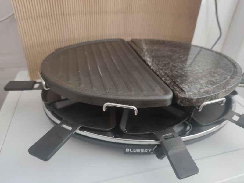 Grill plancha cocina portatil, vista 1