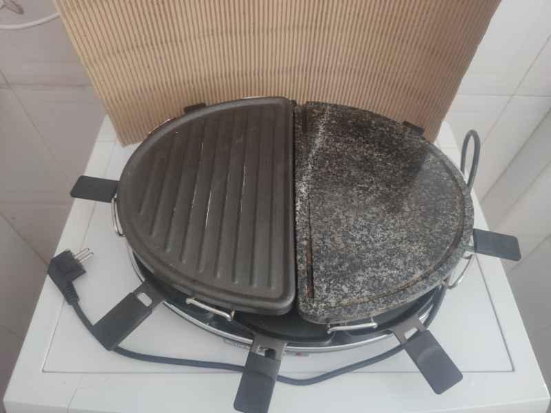 Grill plancha cocina portatil, vista 2