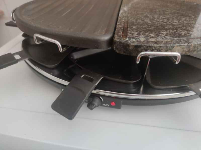 Grill plancha cocina portatil, vista 3