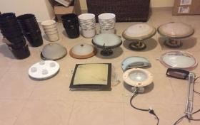 Diversas lámparas de segunda mano, fotos y detalles, referencia: 8-ho
