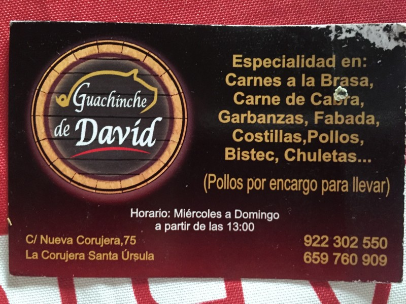 Guachinche De David, vista 7
