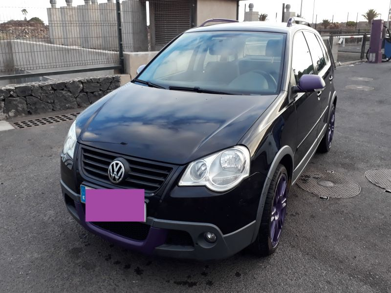 Volkswagen Polo Cross, vista 1