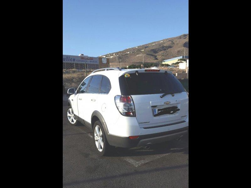 Chevrolet captiva 2.2 4x4, vista 2