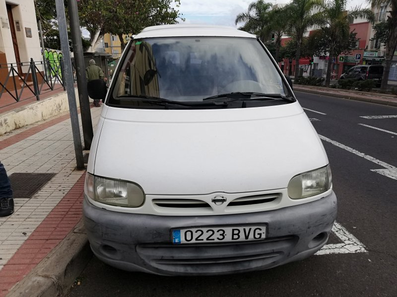 Nissan vanette, vista 1