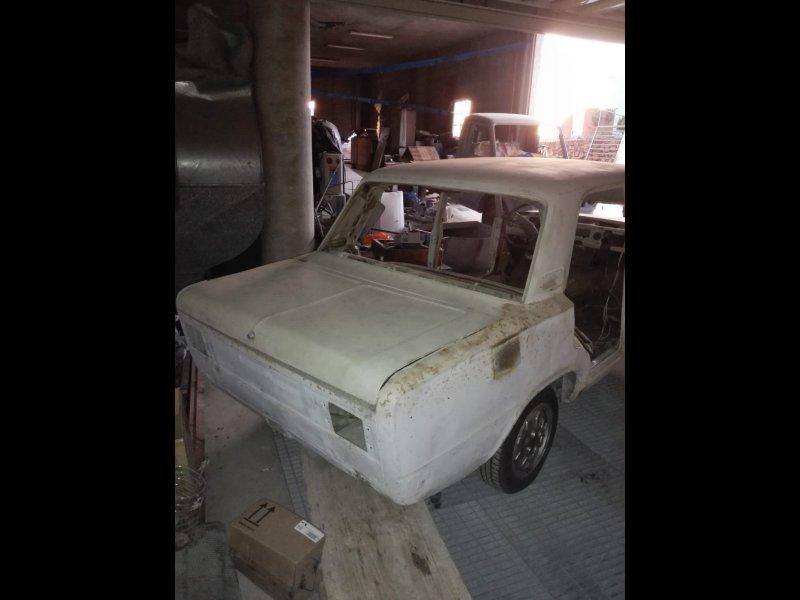 FIAT 125 + motor y repuestos, vista 2