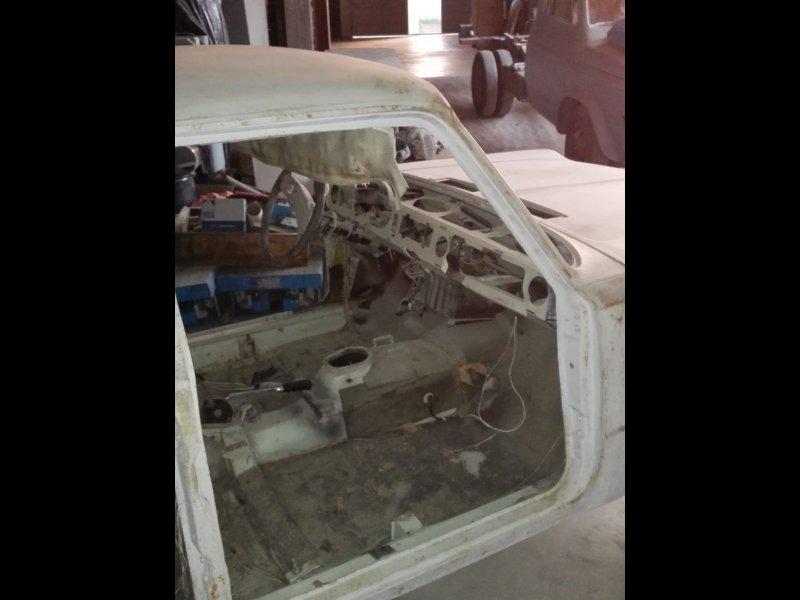FIAT 125 + motor y repuestos, vista 4