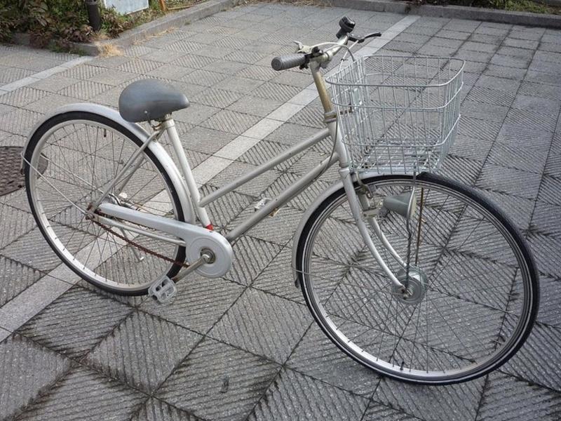 Bicicleta antigua, vista 1