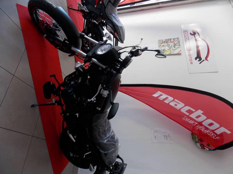 MACBOR RACKSTER FLAT 125cc, vista 4