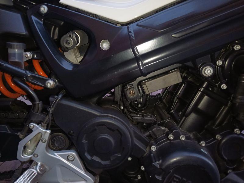 BMW F800R, vista 4