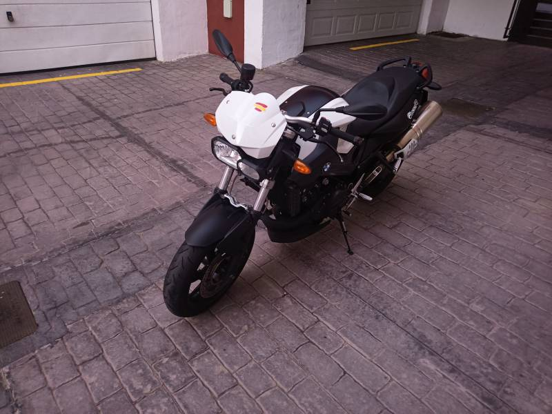 BMW F800R, vista 5