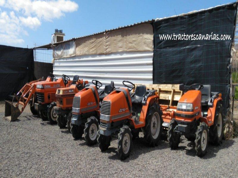 Mini tractores agrícolas, vista 4