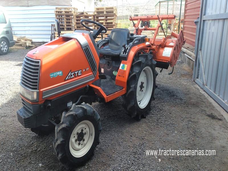 Mini tractores agrícolas, vista 8