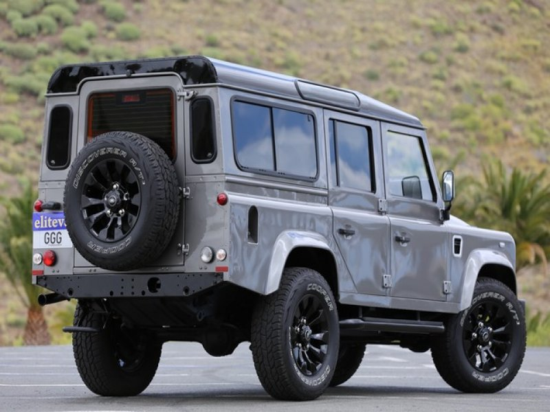 Land Rover Defender 110 SW 7 Plazas 2.4DT 122cv, vista 2